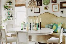 Breakfast Room/Banquette / by Stephanie Laughlin