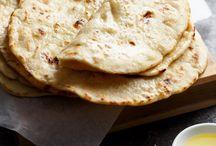 Savoury biscuits/breads