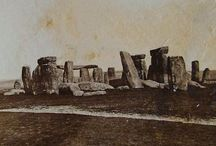 Vintage Stonehenge / Gallery of images illustrating how Stonehenge has changed, restored and been modified over the centuries.