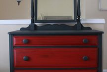 Repainted furniture
