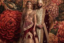 Style to drape bridal dupatta