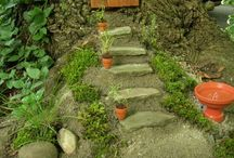 Fairy gardens / Creation of Fairy Gardens and inspirations to create components. / by Rose Marie