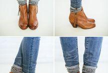Kotnikovy boty a ponozky
