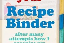 Binder - Recipes