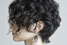 Short curly
