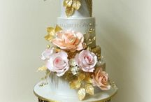 Floral Wedding Cakes / Flowers and floral wedding cakes - cakes full of flowers ;)