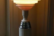 Lamp / Art deco lampen