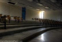 Teacher's Pet / Abandoned location photography in Ontario
