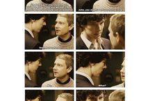 Sherlock/Doctor Who/Torchwood/Harry Potter / Showing the BBC some love / by Holly Theobald