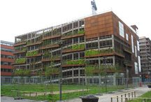 Parkhaus - Green Facade