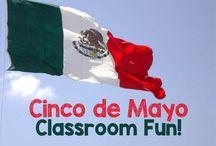 Cinco de Mayo / Cinco de Mayo Resources for the K - 6 Grade Elementary School Teachers.  / by Fern Smith
