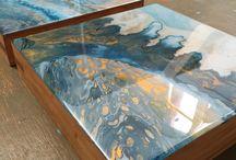 masa pictura acrilica