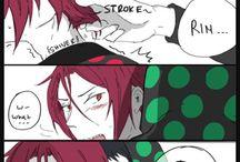 Rin x Sousuke