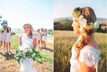 Boho Wedding Ideas / Boho wedding ideas brought to you by Rustic Wedding Chic. The best boho wedding ideas to help boho brides plan their wedding.