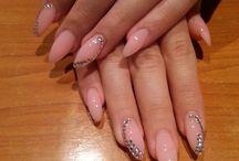 Nails / #nails pink ,love them