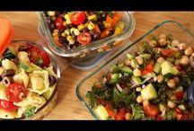 3 verschillende salades