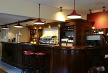 Cafe Rouge, Ruislip. / Decorating & French polishing by PA Schofield Ltd