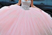 vestidos de XV / hermosos,sencillos vestidos