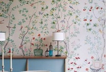 Walls - Paint and Paper / by Rebecca Loewke Interiors