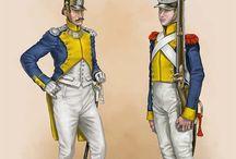 Soldados polacos de napoleon