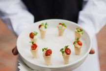 Tray Passed Teasers... / A variety of delicious passed appetizers that will tempt your guests!