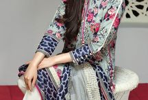 Pakistani lawn 3 pics suits