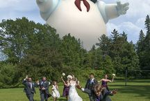 Funny Wedding Photos / Why not have a little fun with your wedding photo's. It's sure to bring a smile to your face for many years to come :)