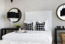 Hollywood Regency Bedroom Ideas / by Ellen Yoffie