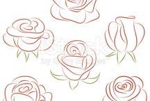 fleurs et arbes