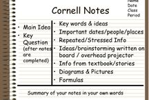 cornell note takong method