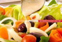 Molhos pra saladas