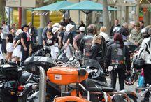 American Bike 2016 / Défilé balade, Groupe Rock Années 50 et Country, Concours, Rodéo mécanique, Exposants de produits Américains... Mai 2016