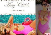 Amy Childs in Sizzling Seeker / Amy Childs spotted in Marbella wearing our Sizzling Seeker of Style Swim piece - as seen in OK! and Now magazine