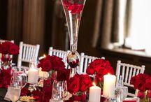 Сервировка свадьба