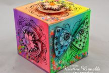 Stampendous and Artist Trading Blocks