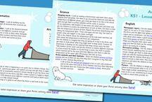 Polar theme homeschooling