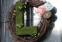 wreaths / by LeighAnn Kaman