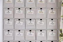♡ Get organized ♡