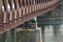 Ponte Bailey sul fiume Reno a Passo Segni di Baricella / Sostituzione del vecchio ponte...
