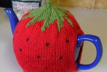 Knitting - Tea Cosies