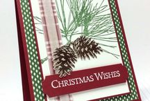 Stampin' Up! - Ornamental Pine / Projects using the 'Ornamental Pine' stamp set.