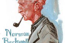 Peintre Norman Rockwell / Authentique dans son art... / by Danielle Couture