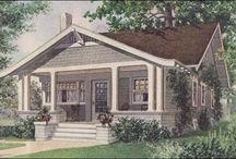bungalow & craftsman  / my favorite house type / by Deborah Wagner