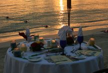 Romance&beach&sunset