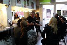 seminario makeupartist.es / seminario para comerciales y pros.... 28,29,30 Noviembre, Palma de Mallorca, Spain con @grimasspain