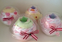 Towel cupcakes / by donna irby
