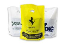 Personalised Carrier Bags / Let your customers 'carry' your brand name.