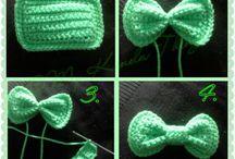 手編みのりぼん
