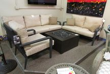 What's in store / Furniture in stock to fit all your patio's needs!