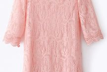 LOVELY LACE / Pin lace dress, shoes lace, skirts, blouses....